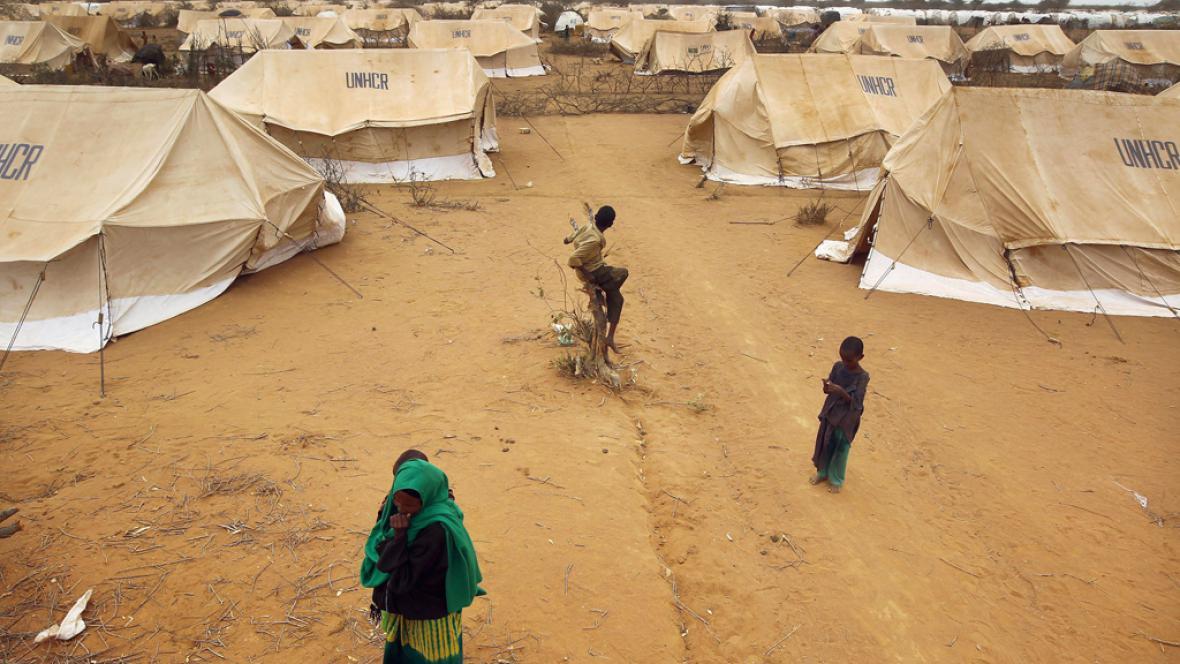 Tábor pro Somálské uprchlíky v Keni