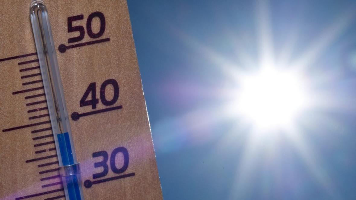 Extrémní teploty