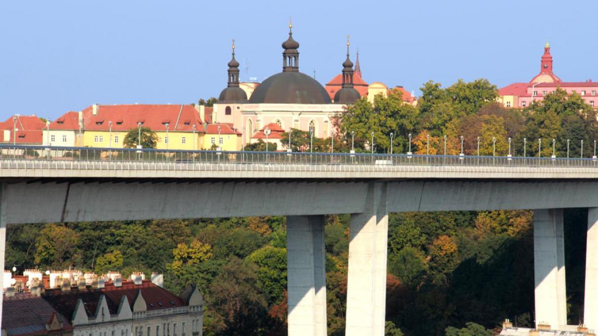 Nuselský most a Karlov