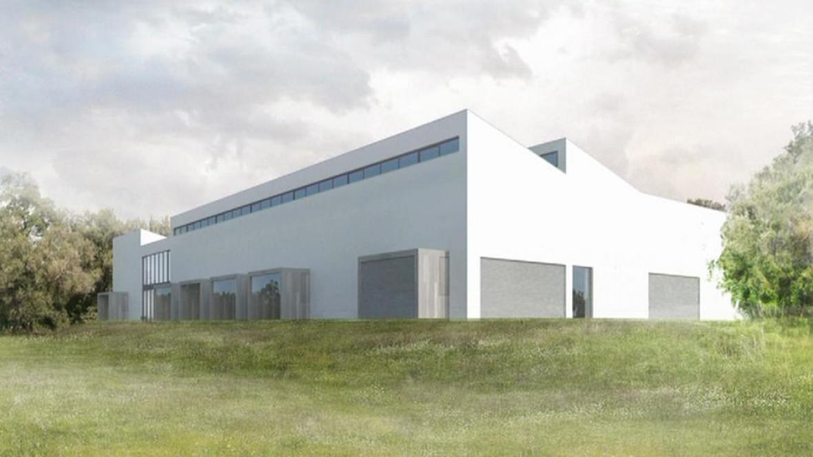 Vizualizace nového archeologického centra