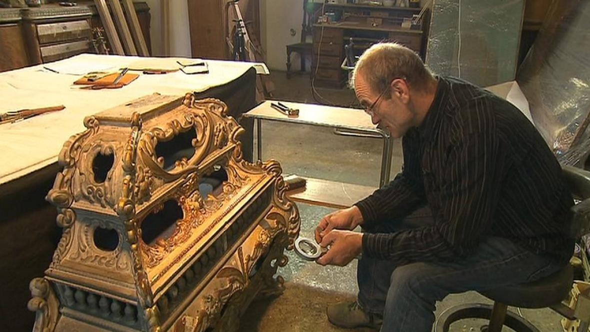 Relikviář s ostatky sv. Sekundiny