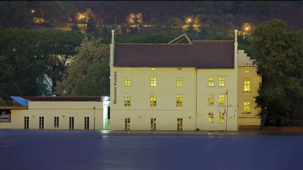Zaplavené Muzeum Kampa