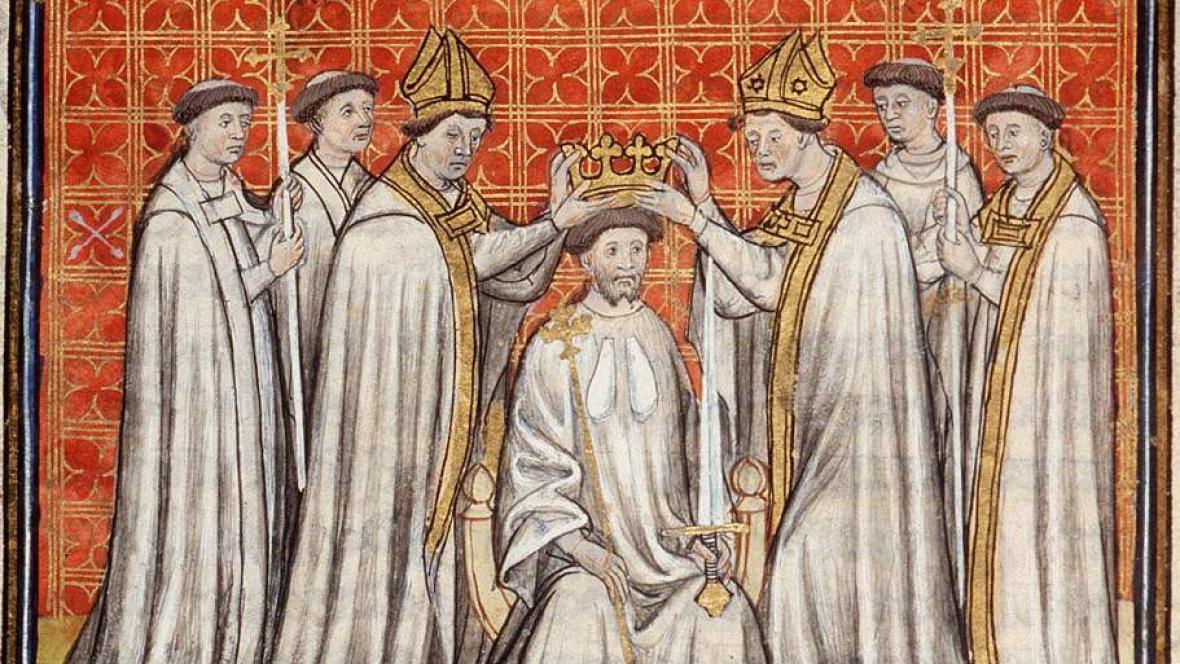 Korunovace ve středověku
