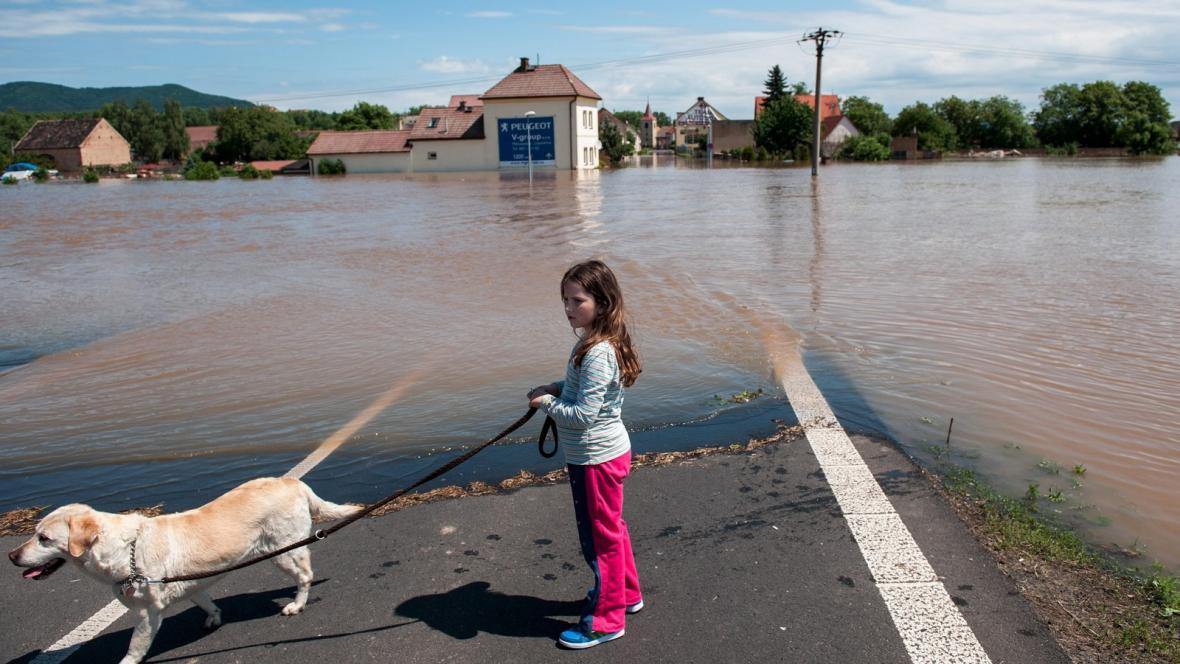 Povodně v Mlékojedech