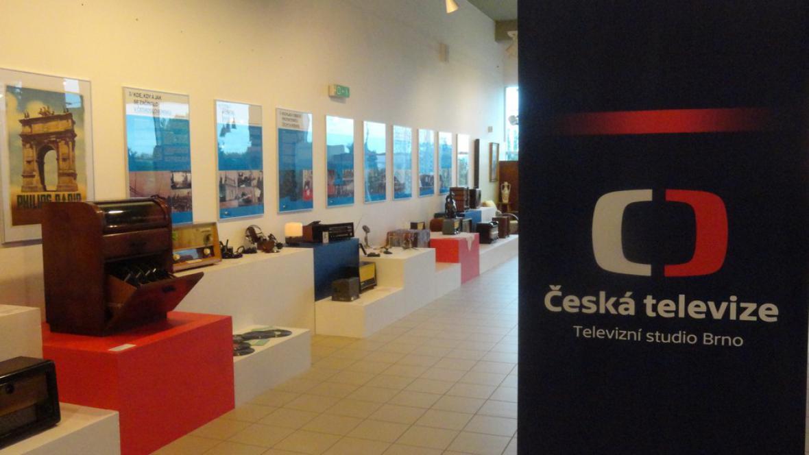 Výstava o historii rozhlasu a televize