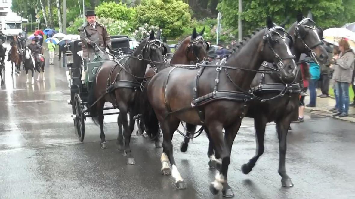 Den koně v Lomnici nad Popelkou