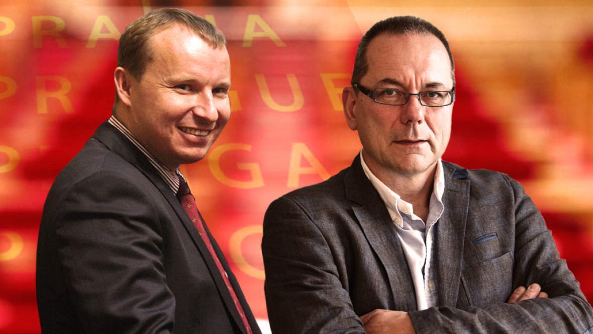 Miroslav Poche a Jiří Vávra