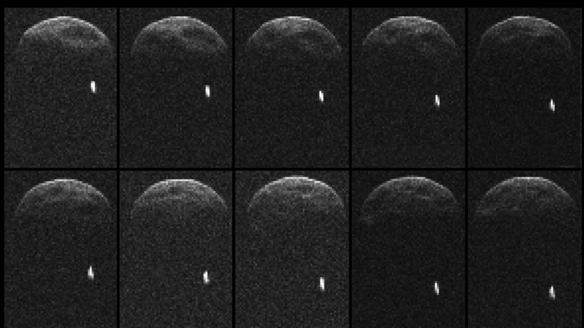 Asteroid 1998 QE2