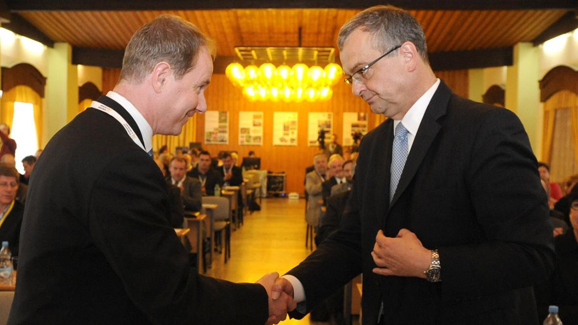 Petr Gazdík (STAN) a Miroslav Kalousek (TOP 09)