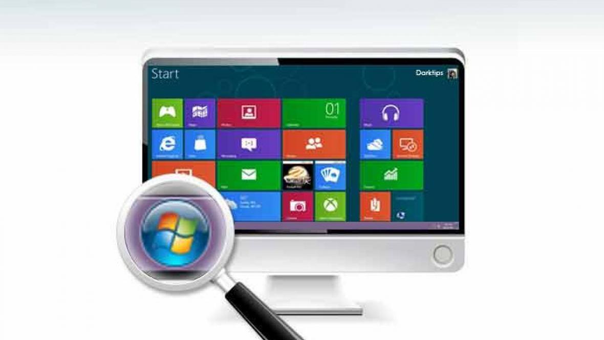 Tlačítko Start ve Windows 8