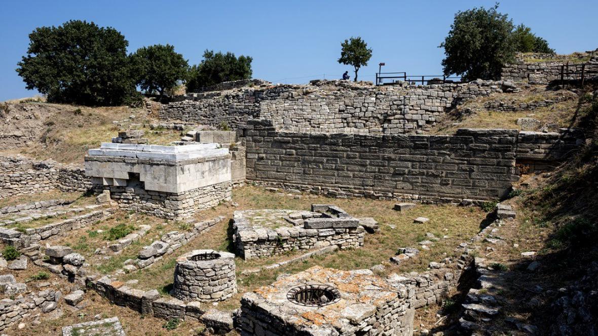 Archeologické naleziště staré Tróji