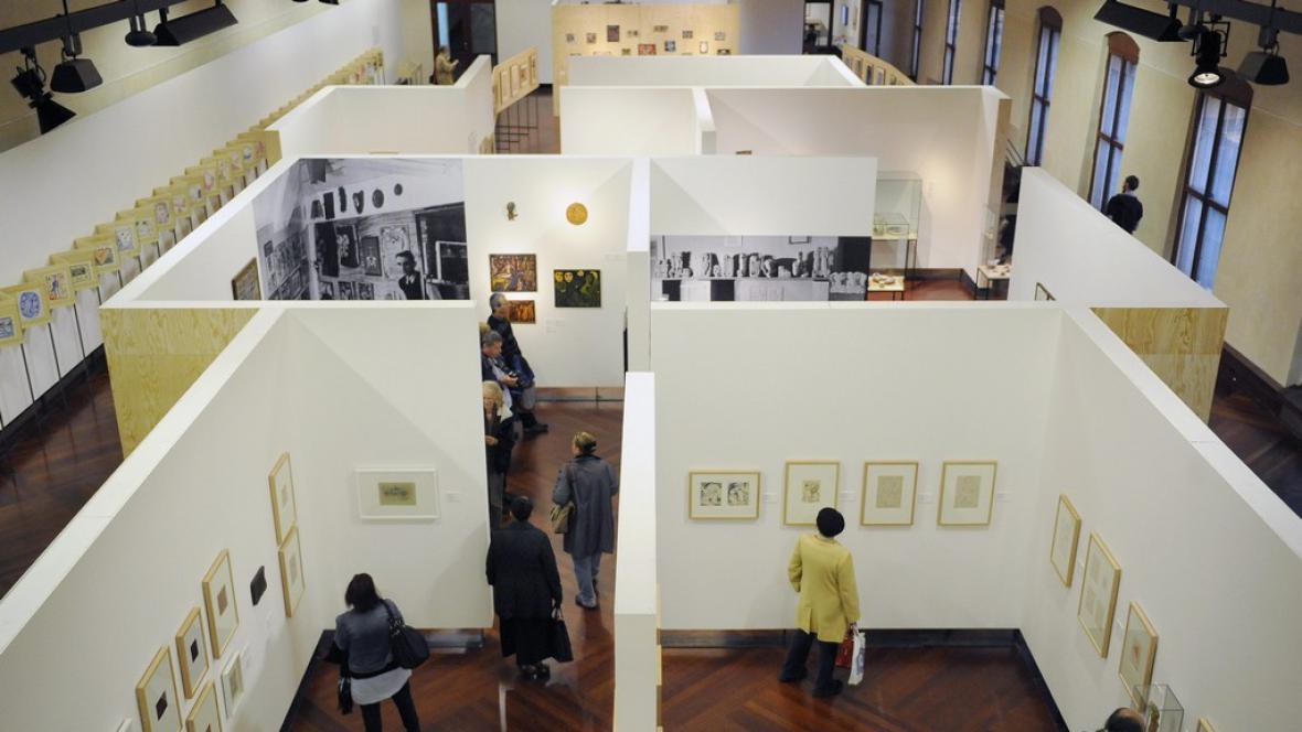 Retrospektivní výstava Jana Křížka