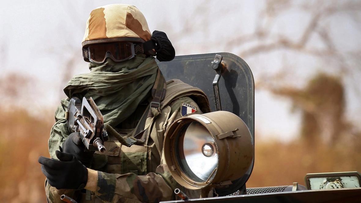 Francouzský voják v Mali