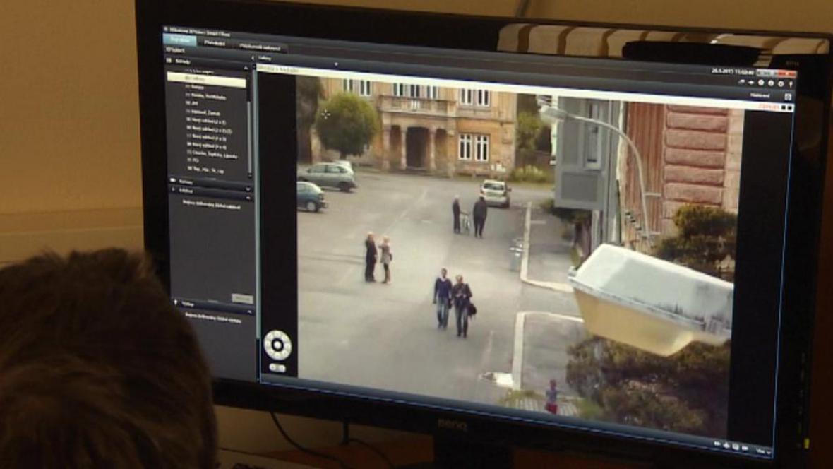 Záběry z kamery z Duchcova