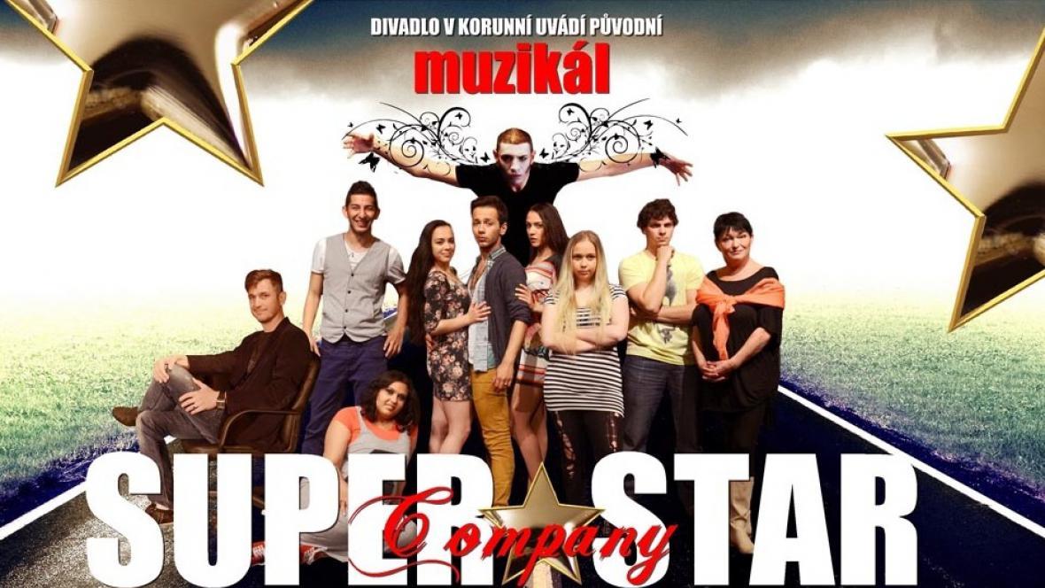 Plakát k muzikálu Superstar Company