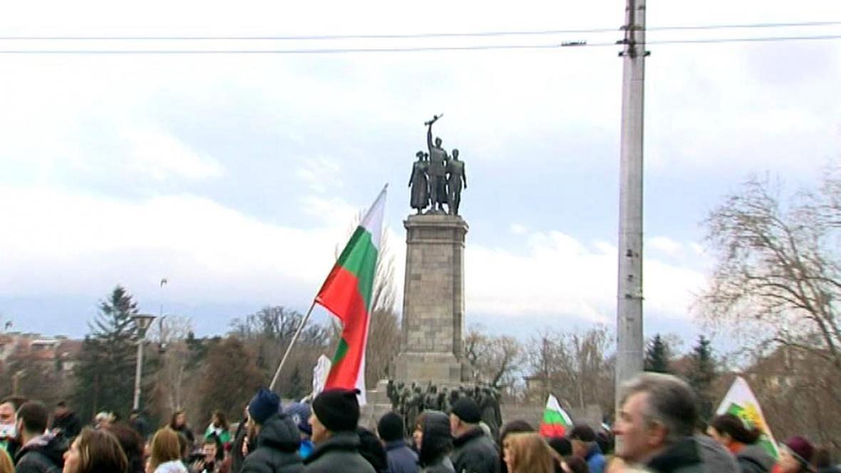 Demonstrace v Bulharsku