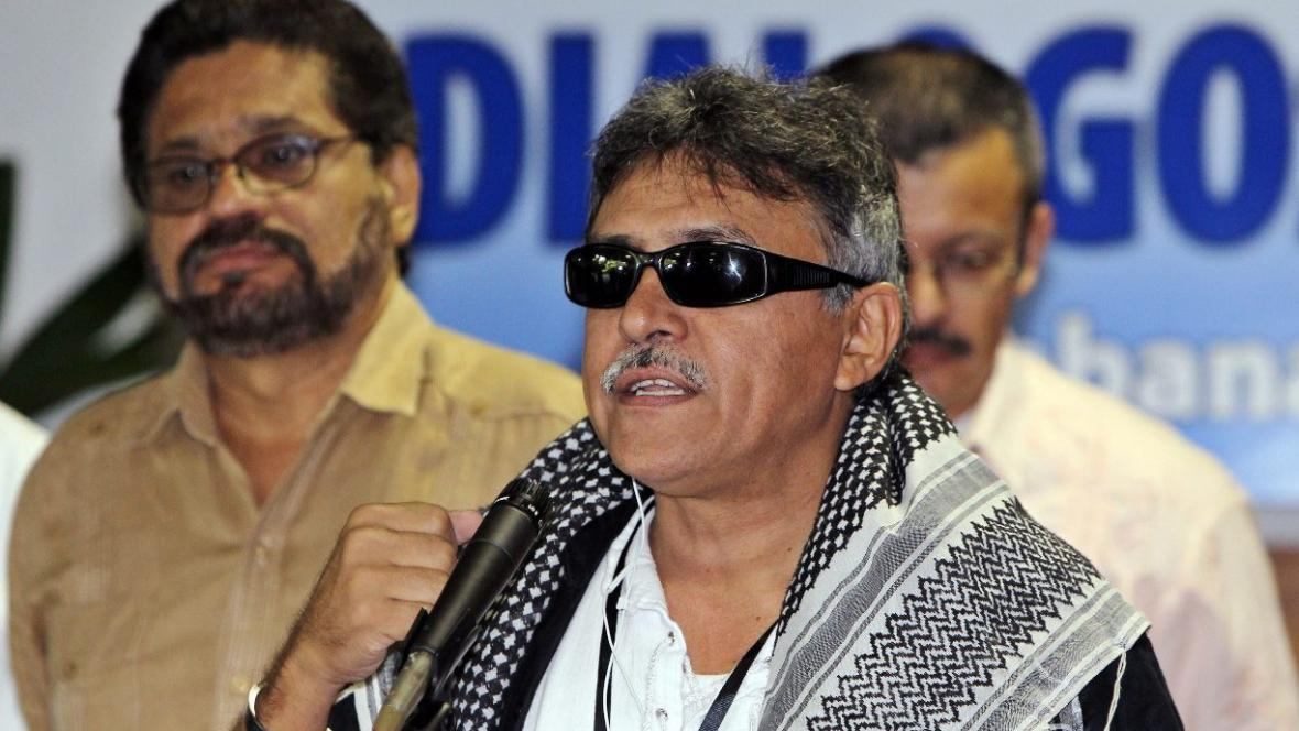 Zástupci FARC v Havaně