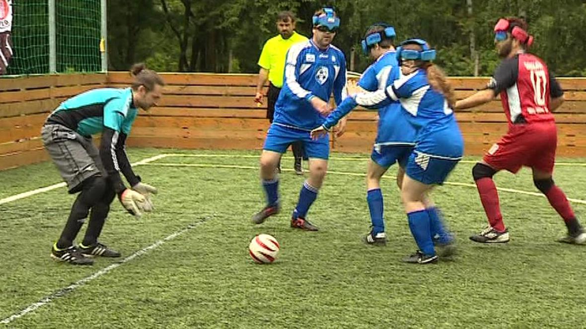 Futsal pro nevidomé