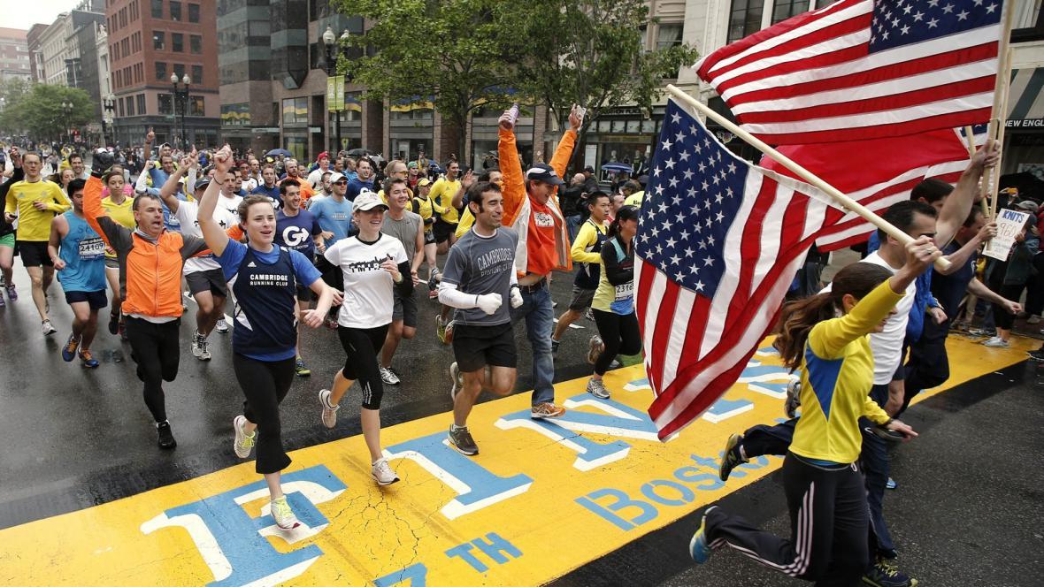 Poslední míle Bostonského maratonu