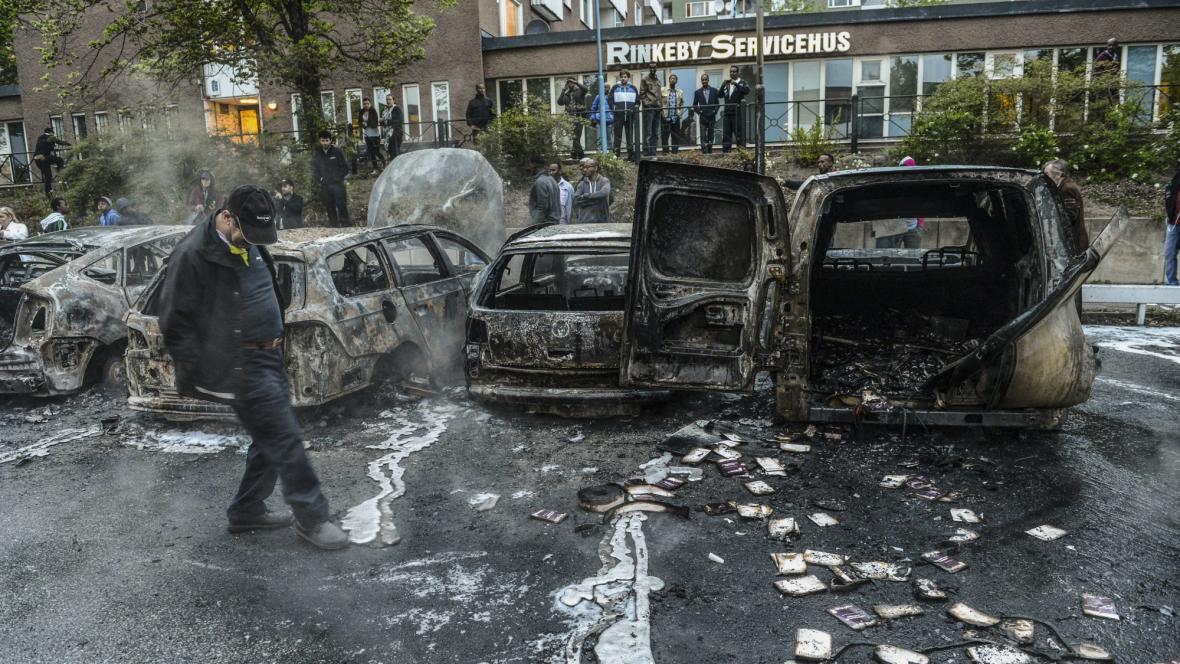 Pouliční nepokoje ve Švédsku