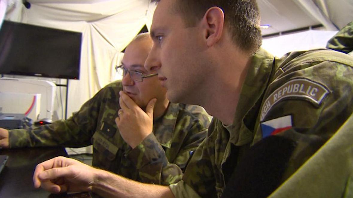 Vojenské cvičení Yellow Cross v Liberci