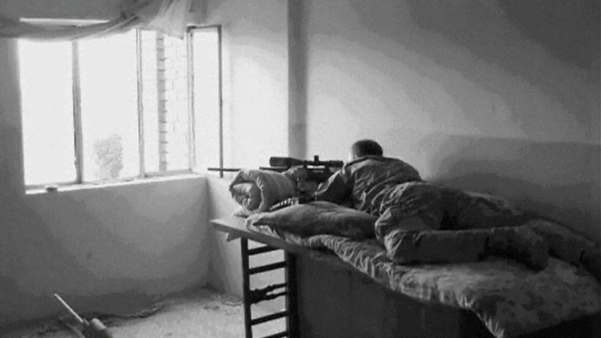 Elitní odstřelovač Chris Kyle