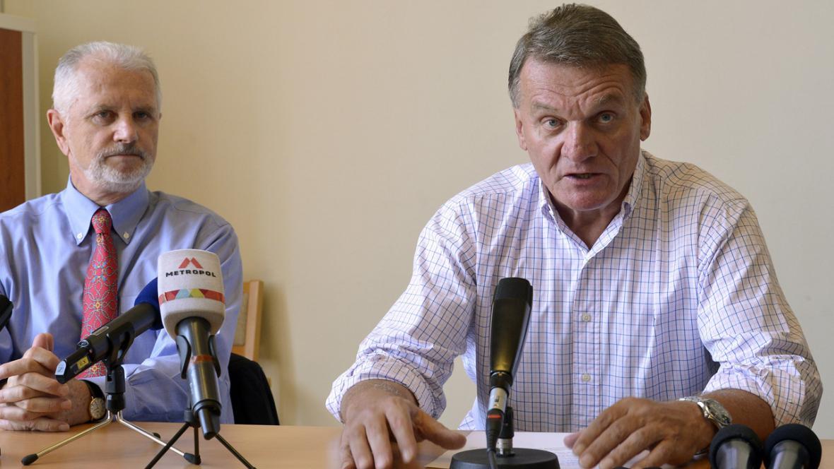 Vladimír Lich a Bohuslav Svoboda