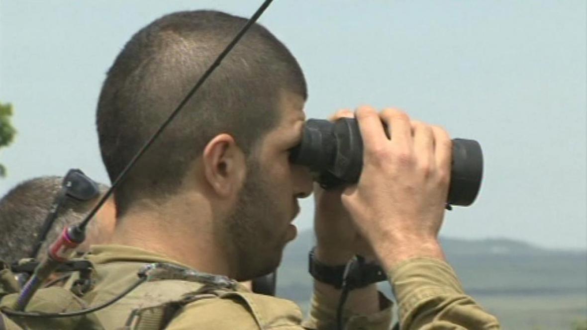 Syrsko-izraelská hranice