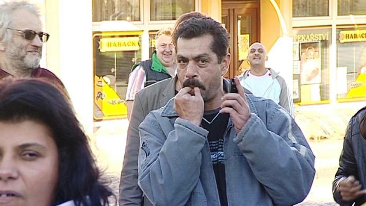 Demonstrace na Šluknovsku