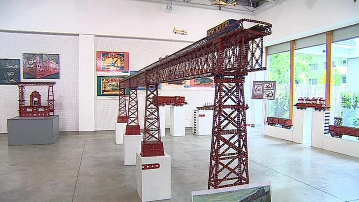 Model ivančického viaduktu