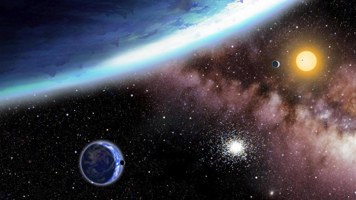 Záznam z Keplerova teleskopu
