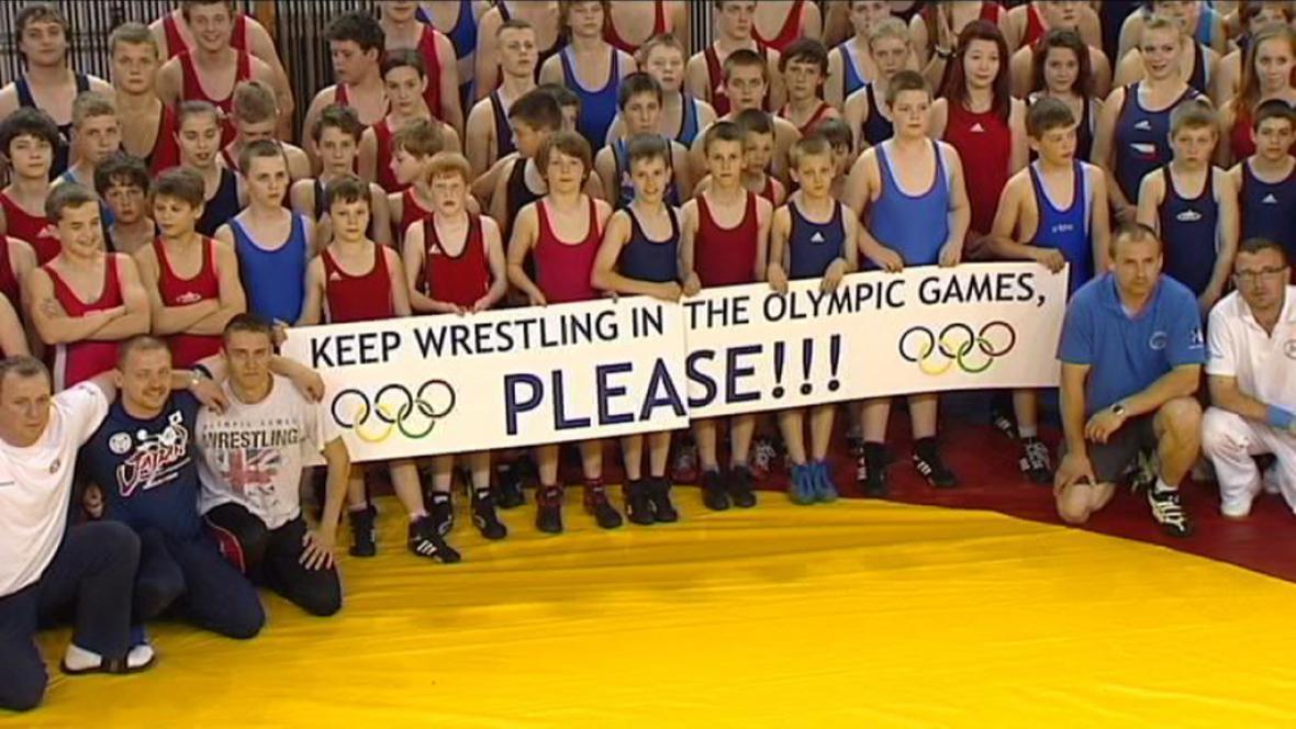 Protest zápasníků