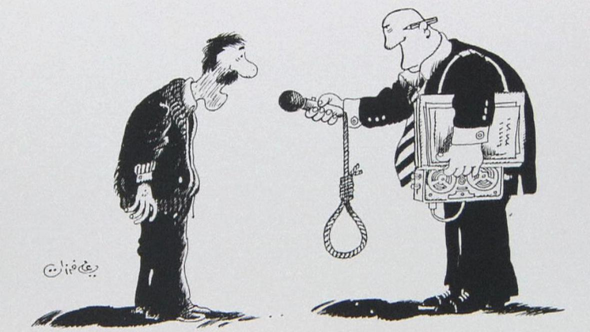 Kresba Alího Farzata