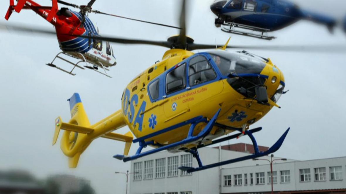 Letecká záchranka