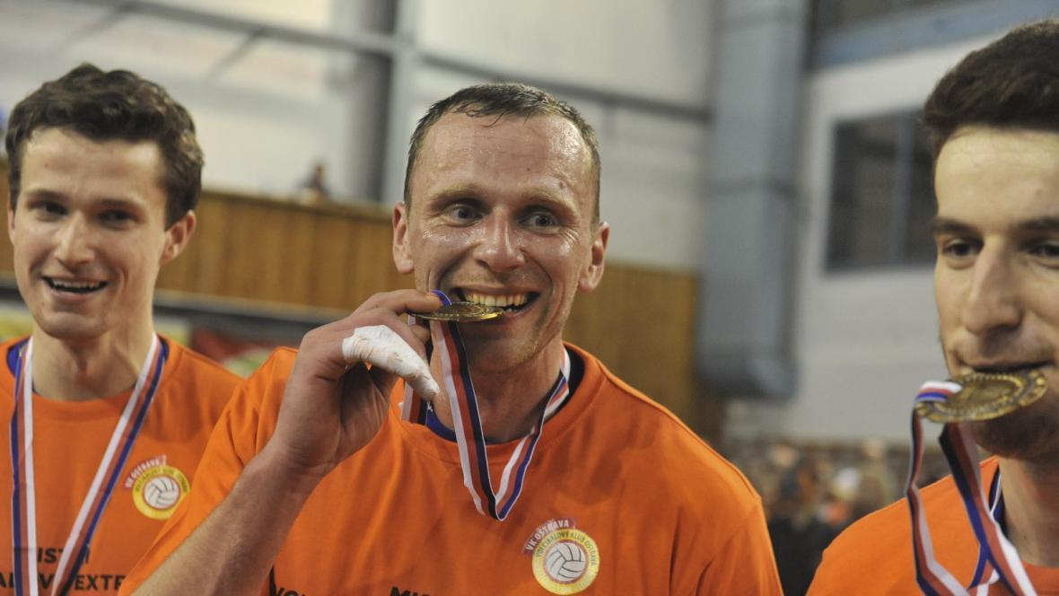 Volejbalisté Ostravy s medailemi