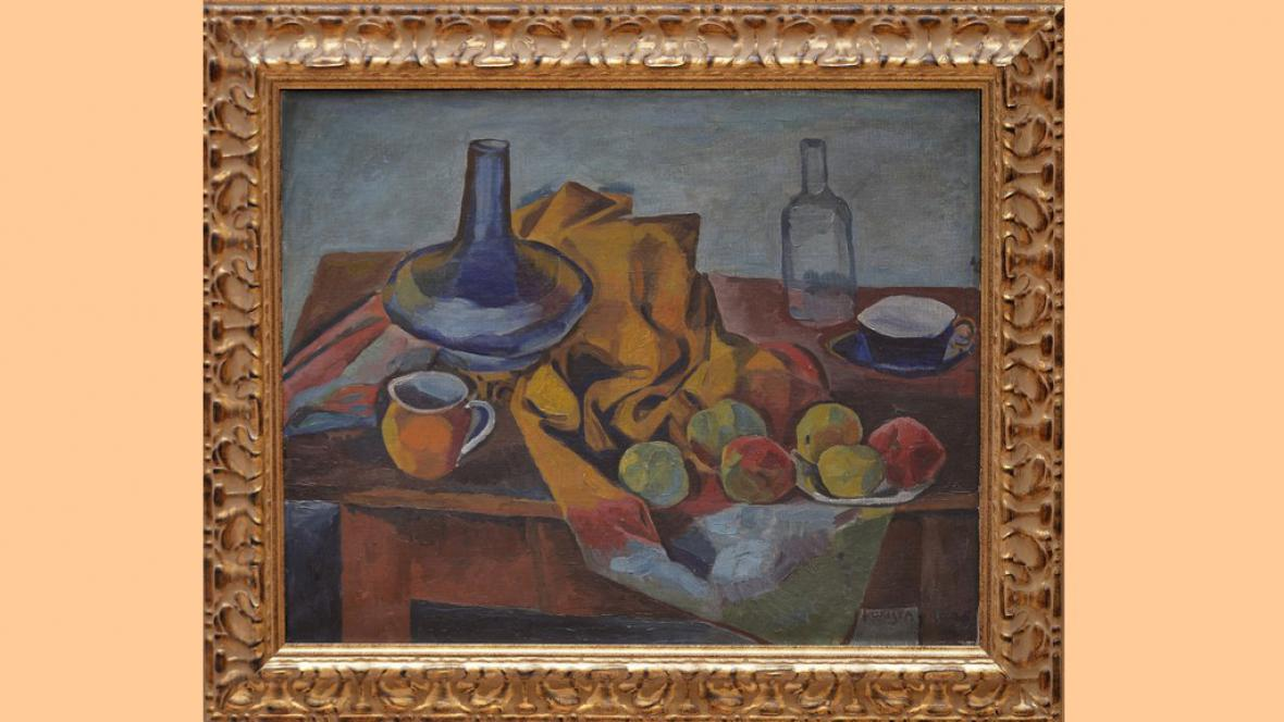 Obraz Zátiší malíře Bohumila Kubišty