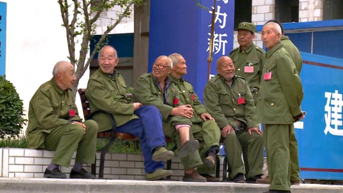 Čínští veteráni korejské války