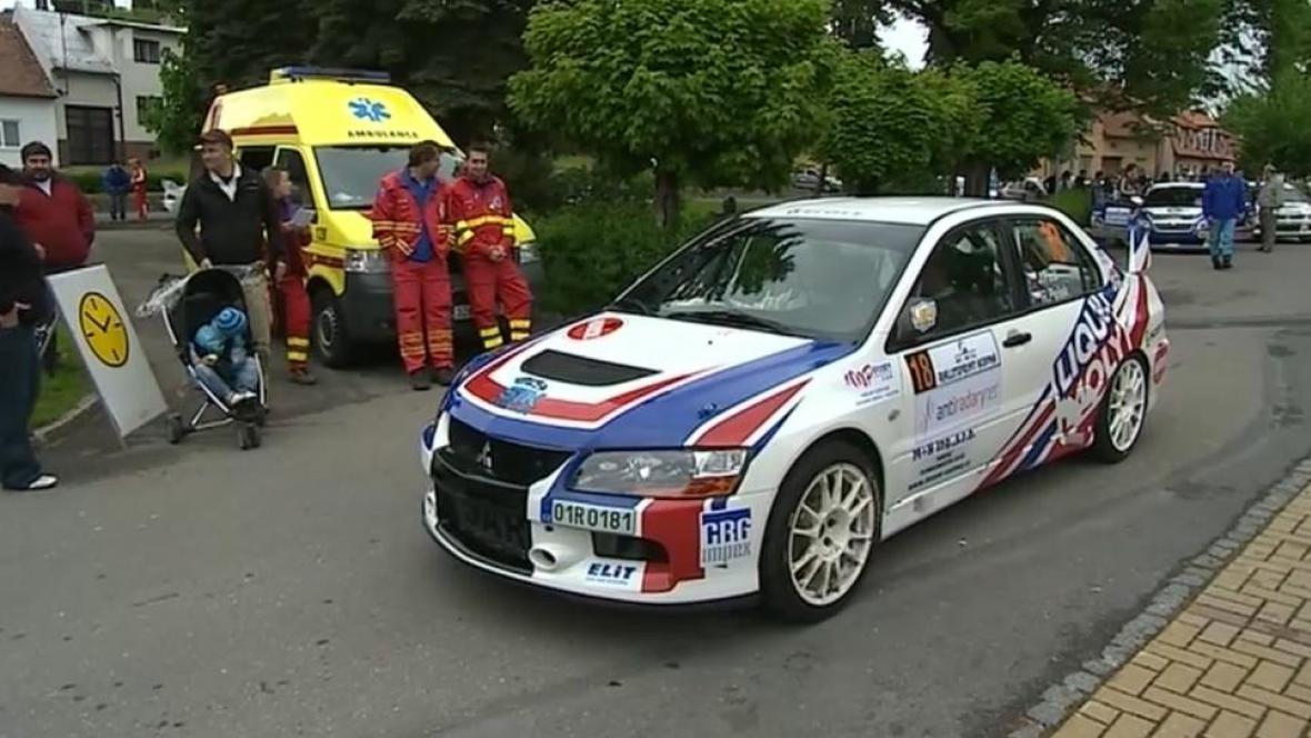 Rallysprint Kopná se obešel bez nehody