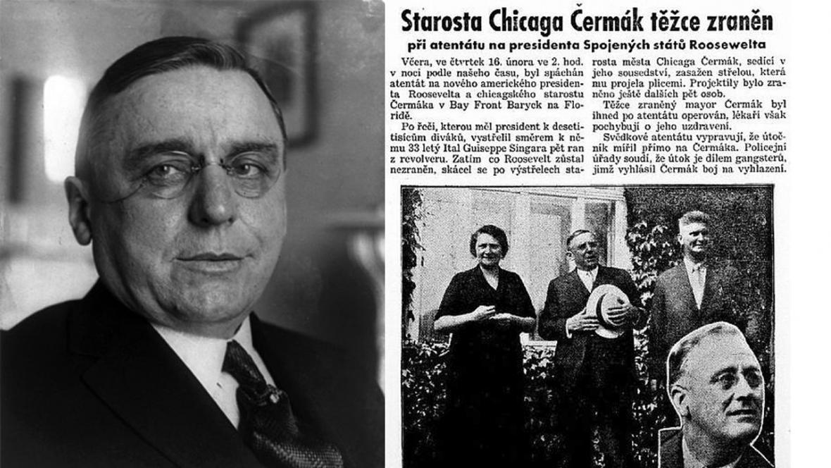 Anton Cermak zemřel místo Roosevelta