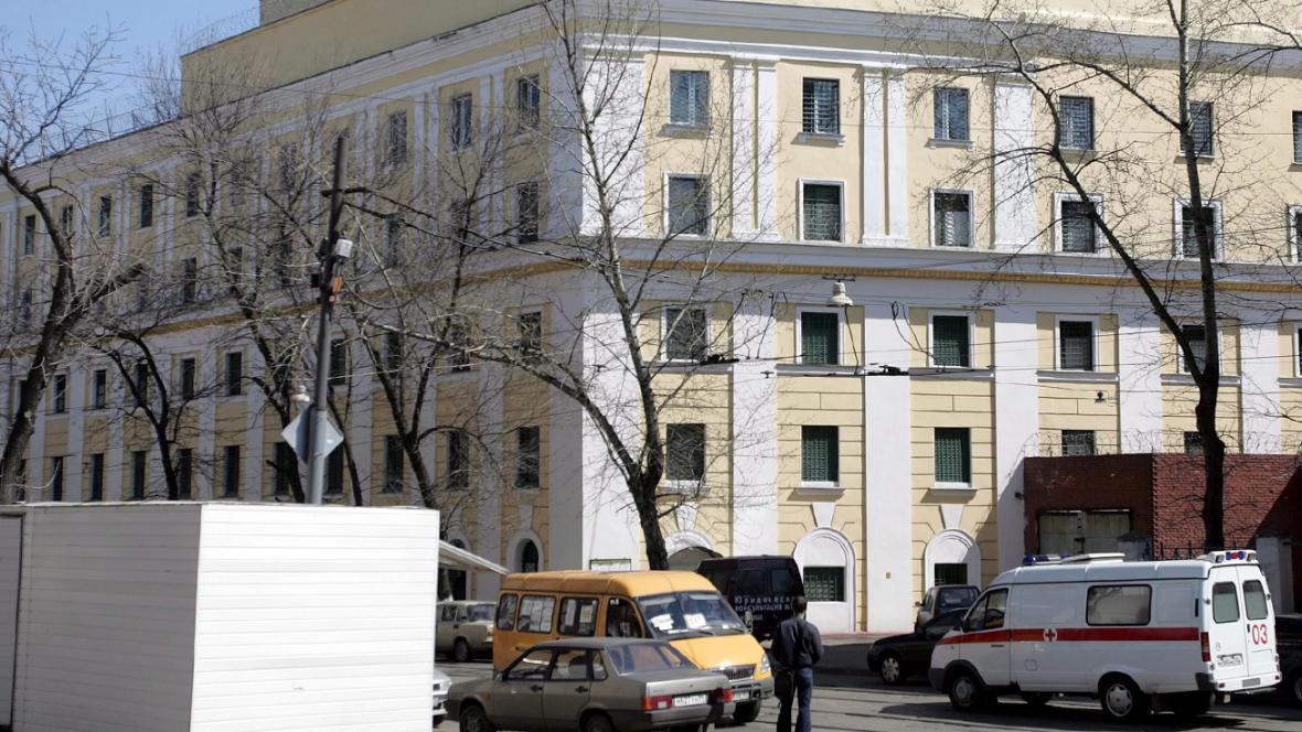 Moskevská věznice Matrosskaja tišina