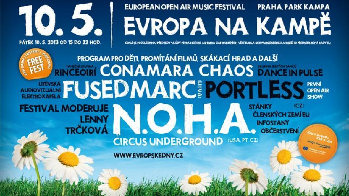 Festival Evropa na Kampě