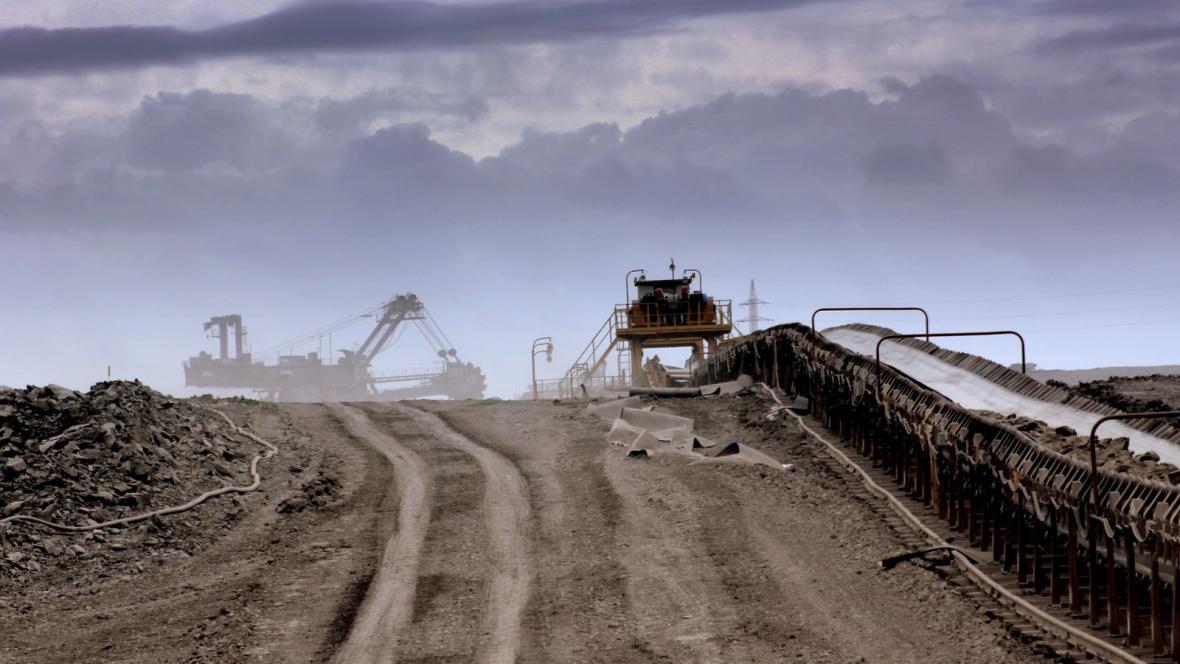 Těžba uhlí - ilustrační foto