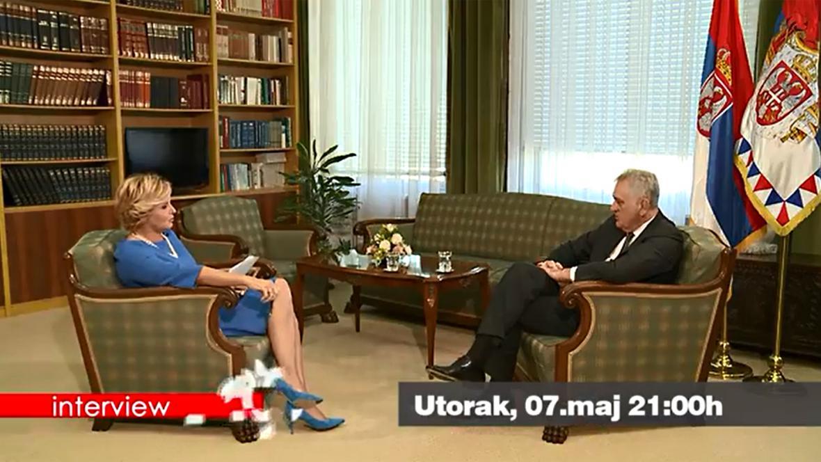 Tomislav Nikolić v rozhovoru pro BHT
