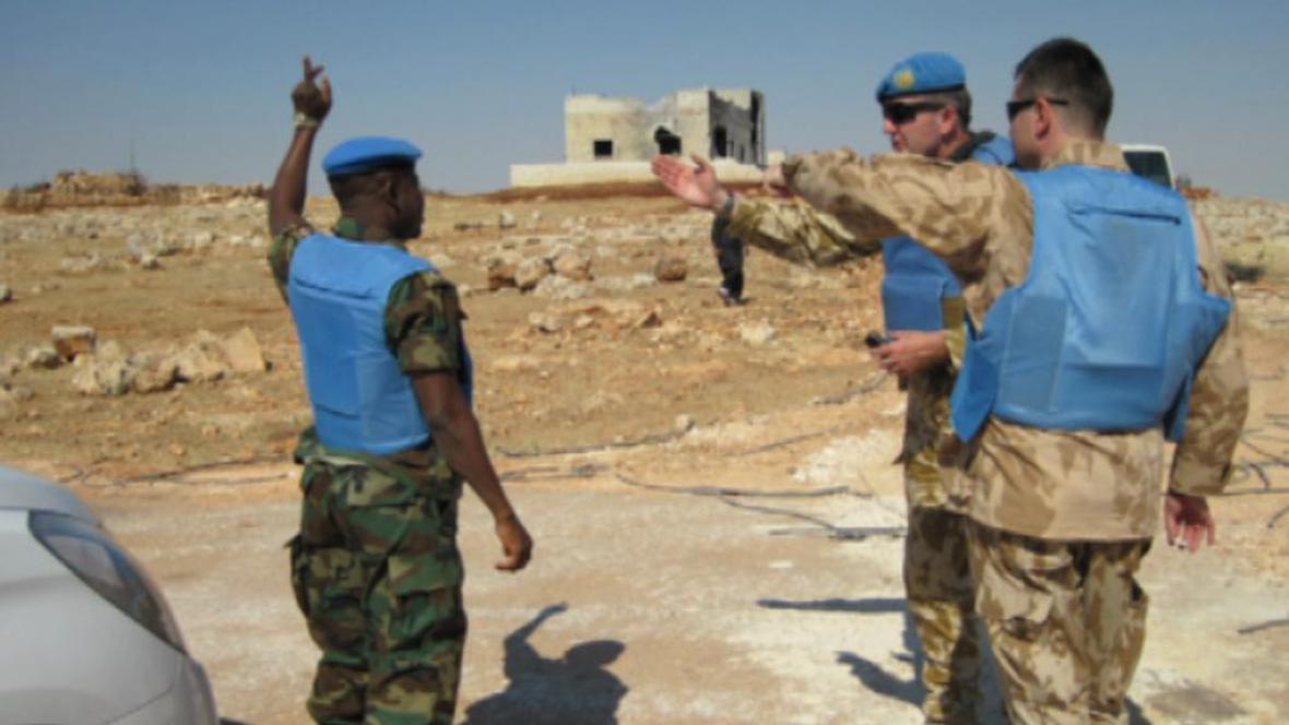 Mise OSN v Sýrii