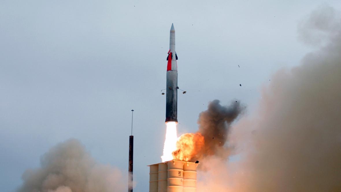 Izraelská raketa Arrow