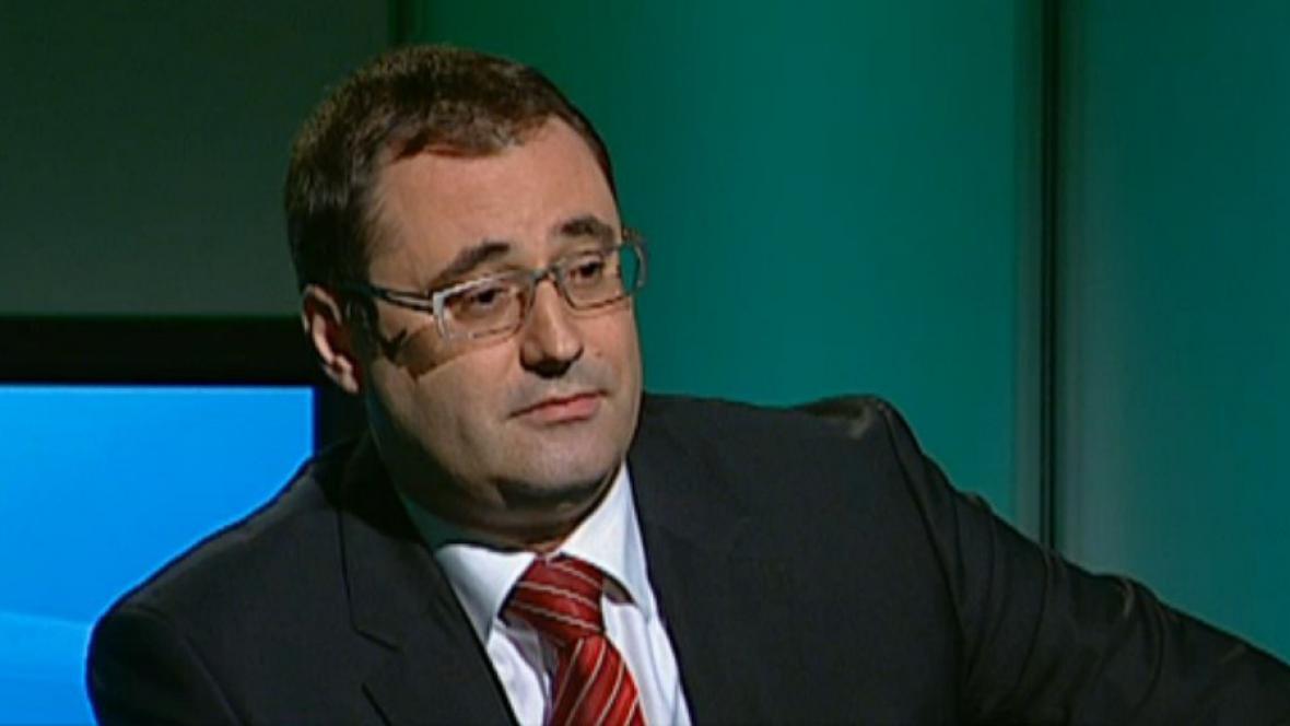 Poslanec a bývalý pražský zastupitel Boris Šťastný (ODS)