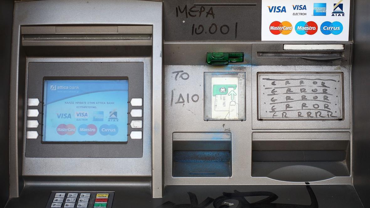 Dluhová krize v Řecku