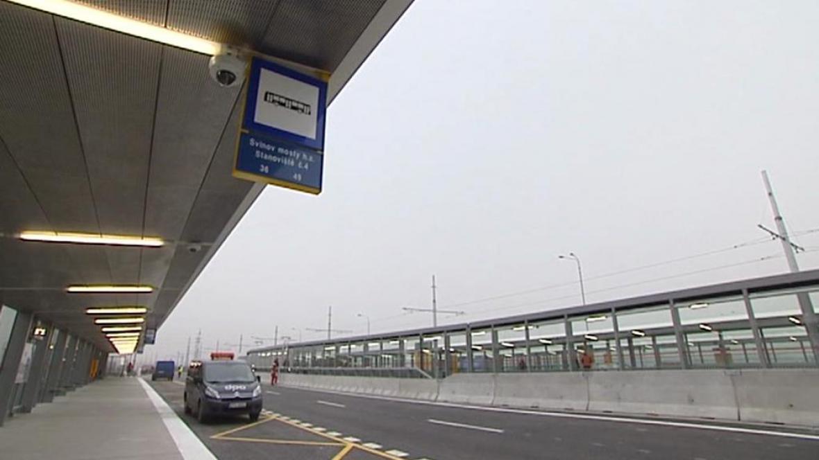 Nová zastávka na Svinovských mostech
