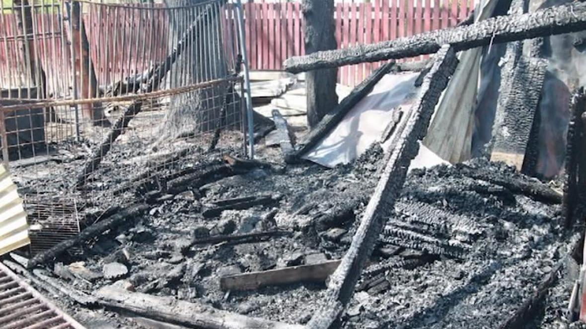 Vyhořelé kotce