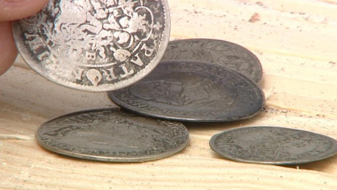 Nalezené stříbrné tolary